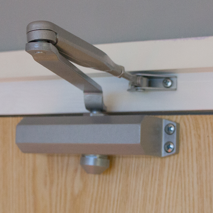 Door Closers In Various Styles And Finishes