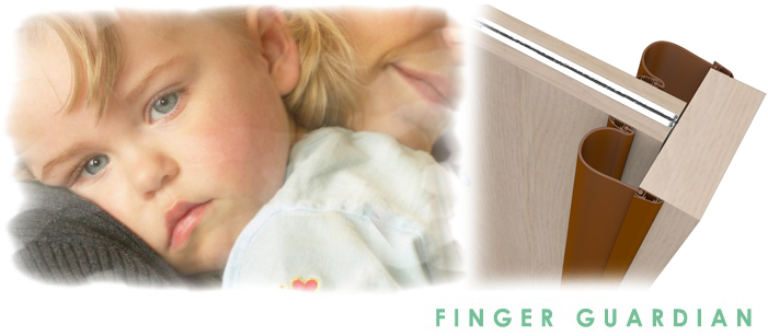 Door safety for children - Finger Guardian.